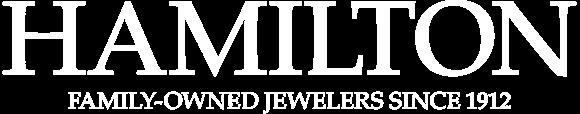 logo hamilton jewelery white