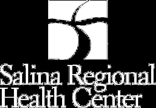 logo salina regional health white